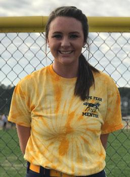 17CF softball Sammi Jo Loney Cape Fear