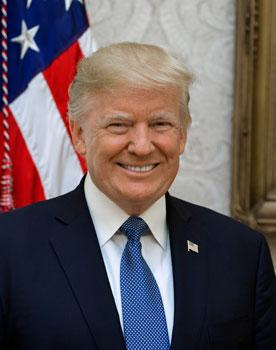 04President Trump Official Portrait