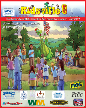 July 2019 Kidsville News! Cumberland County and Hoke County