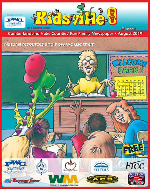 August 2019 Kidsville News! Cumberland County and Hoke County