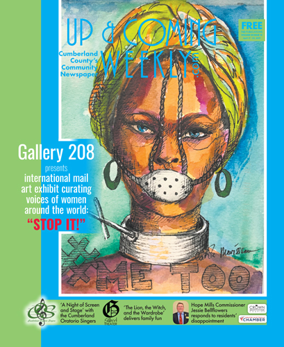 "Gallery 208 presents international mail art exhibit curating voices of women around the world: ""STOP IT!"""