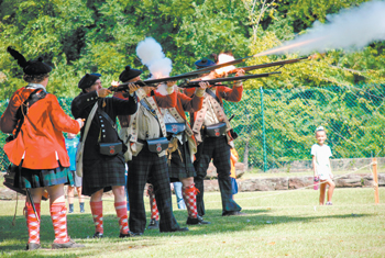 11 museum71st Highland Regiment Firing Demonstration Festival of Yesteryear 2017 Credit Museum of the Cape Fear