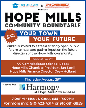 15 Hope Mills Community Roundtable