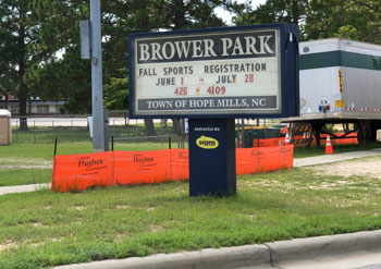 17 01 Brower park sign
