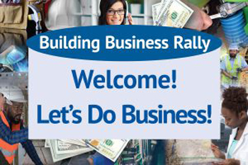 18 Building business rally graphic